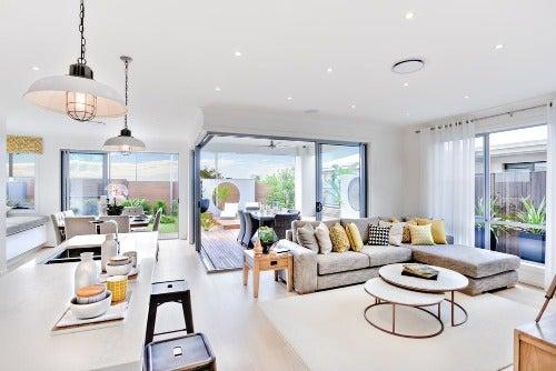Offene Wohnbereiche trennen: Viele praktische Ideen!