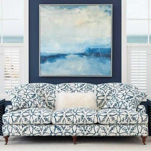 Gemusterte Sofas - eine Möglichkeit, dein Zuhause neu zu erfinden