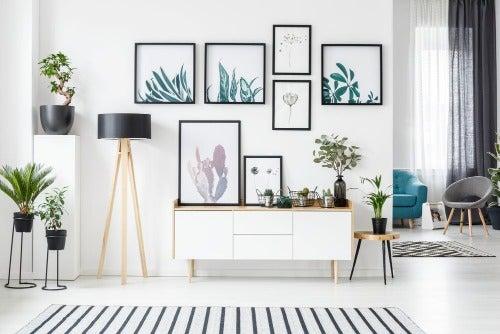 Bilder als Wanddekoration