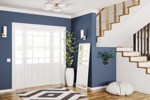 Eingangsbereich mit wundervollen Pflanzen dekorieren