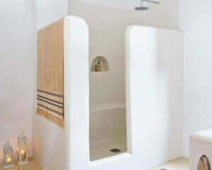 perfekte Dusche - gemauert