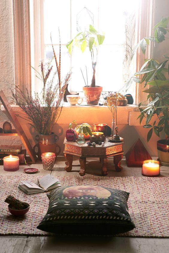 Ambiente cálido en una habitación