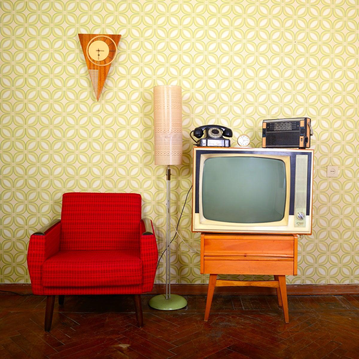 Elementos para una habitación vintage