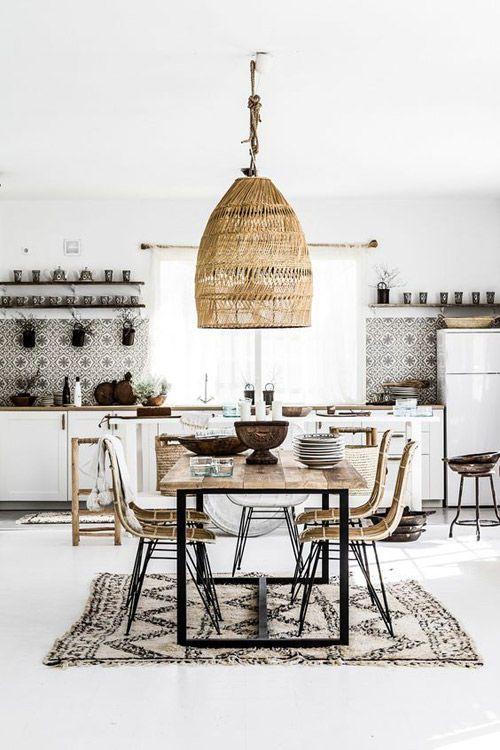 Iluminación en un espacio de estilo nórdico