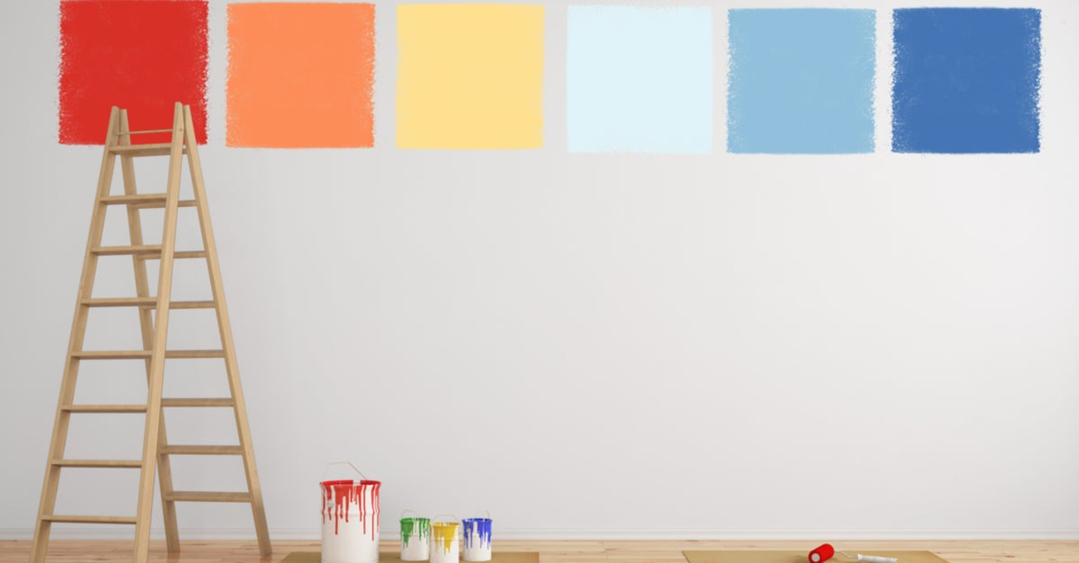 Distintos colores para pintar la pared, psicología del color