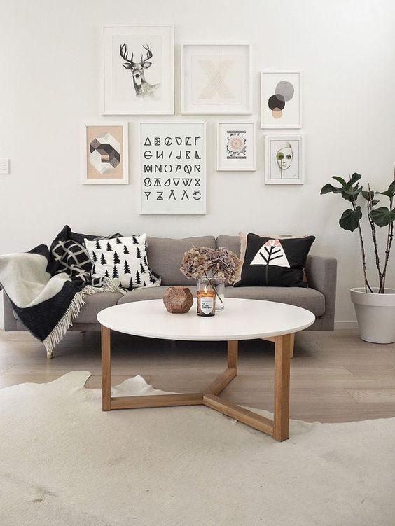 Habitación decorada al estilo nórdico