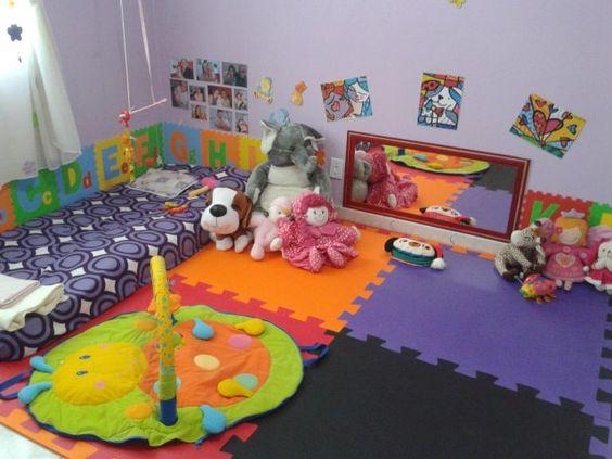 Decoración de habitación infantil con el método Montessori