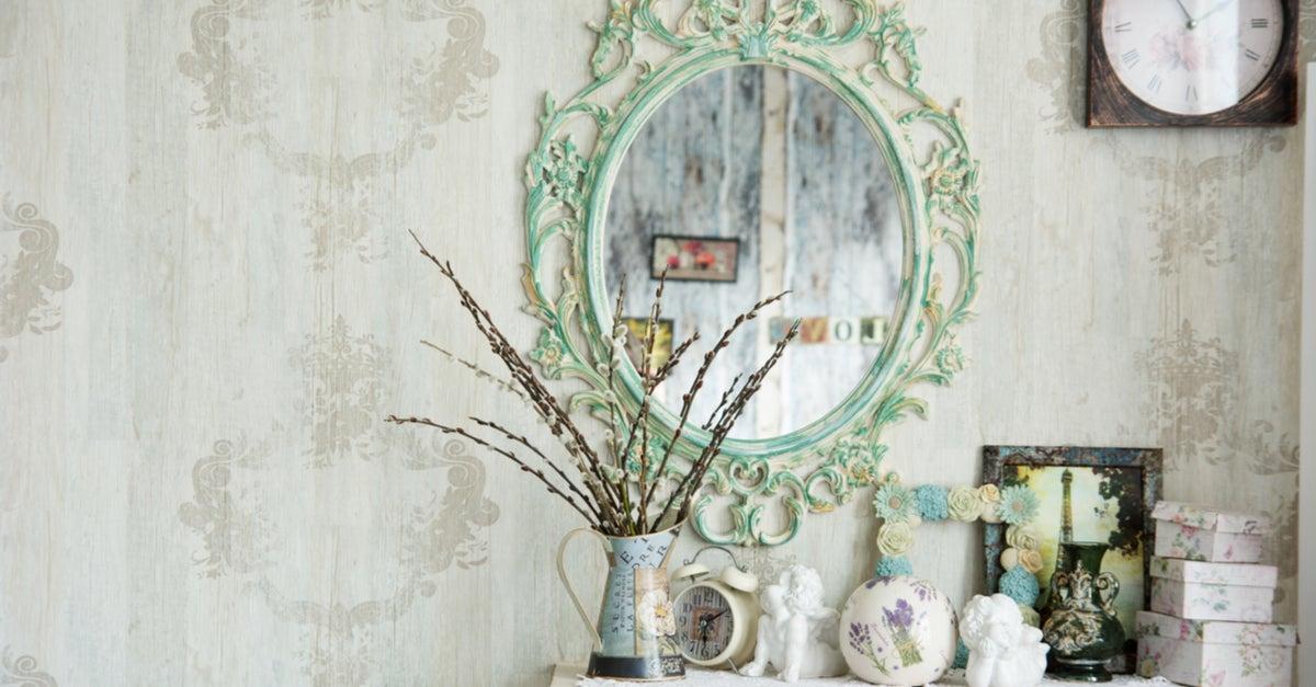 Elementos decorativos antiguos o reciclados