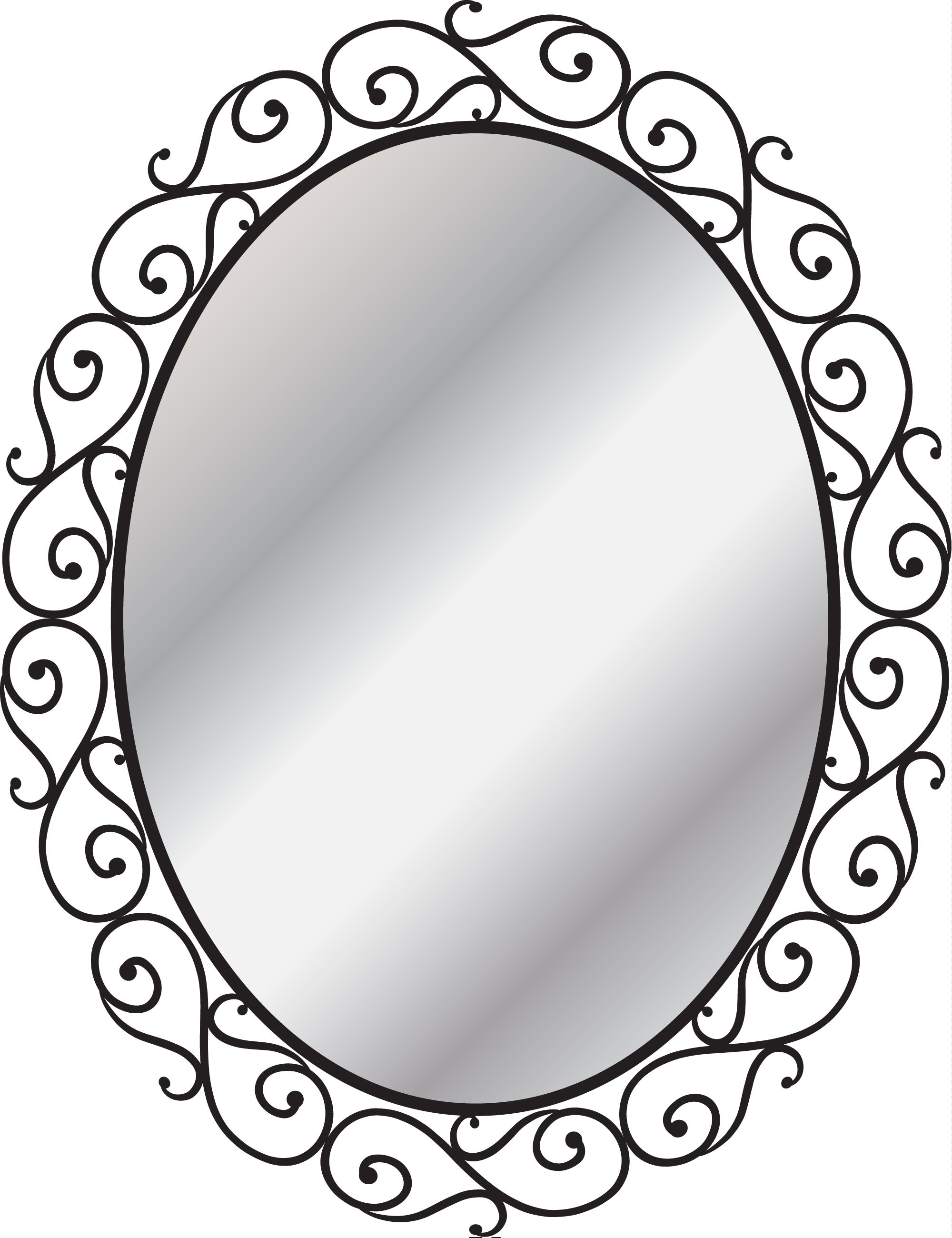 Espejo de forja estilo mediterráneo