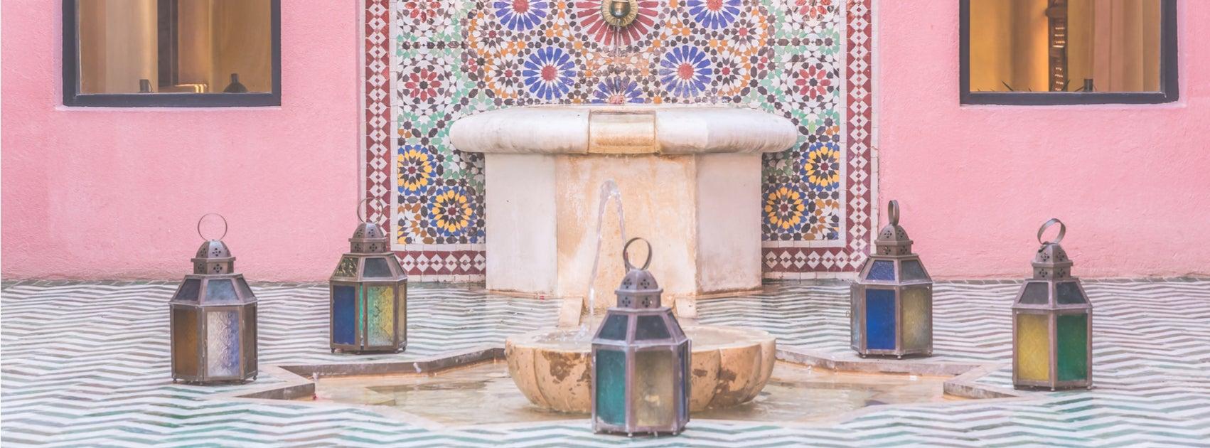 Diseña tu propio salón marroquí