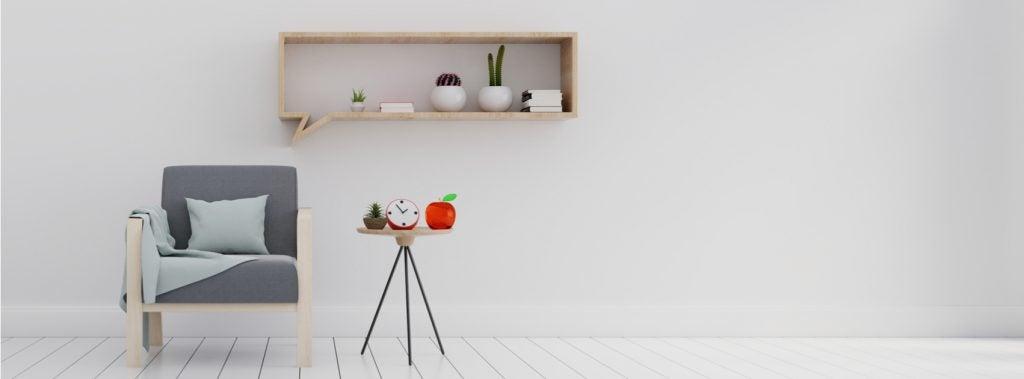 Decoración minimalista dentro del estilo nórdico