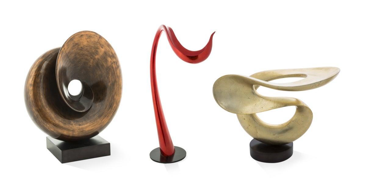 Esculturas decorativas de mármol