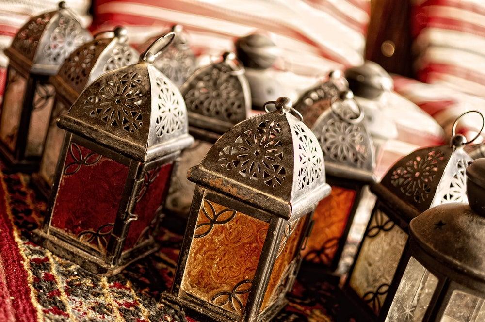 Farolillos marroquíes