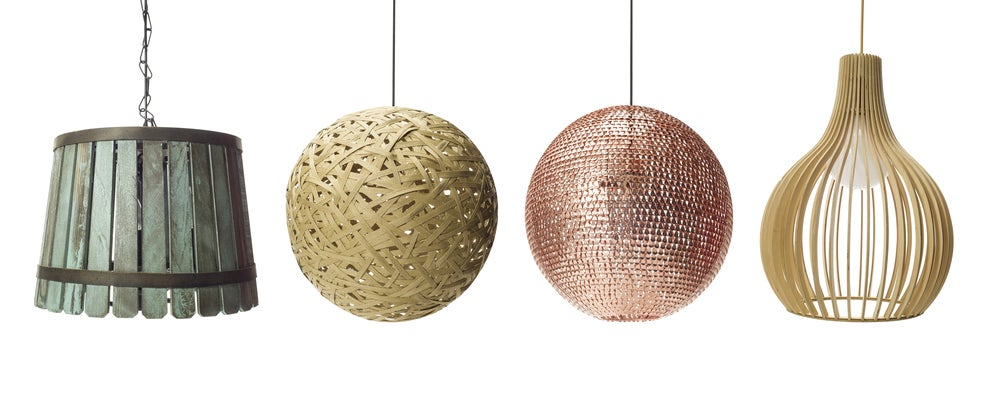 Lámparas de techo: ideas para elegir la idónea