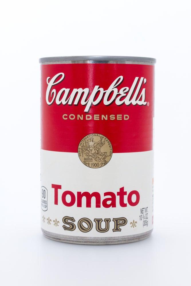 Lata de tomate Campbells de Andy Warhol