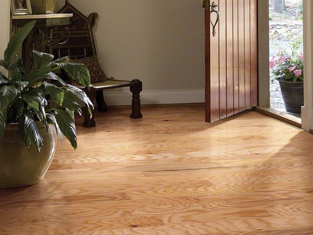 Laminate is easy to clean and maintain.