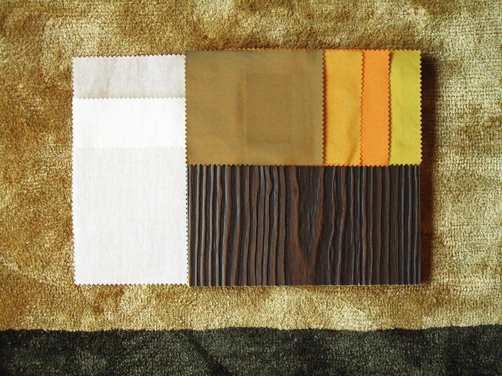 Distintas muestras de tela