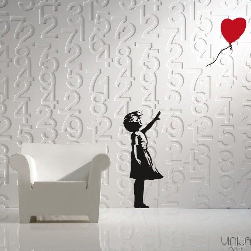 Vinilo de pintura de Banksy
