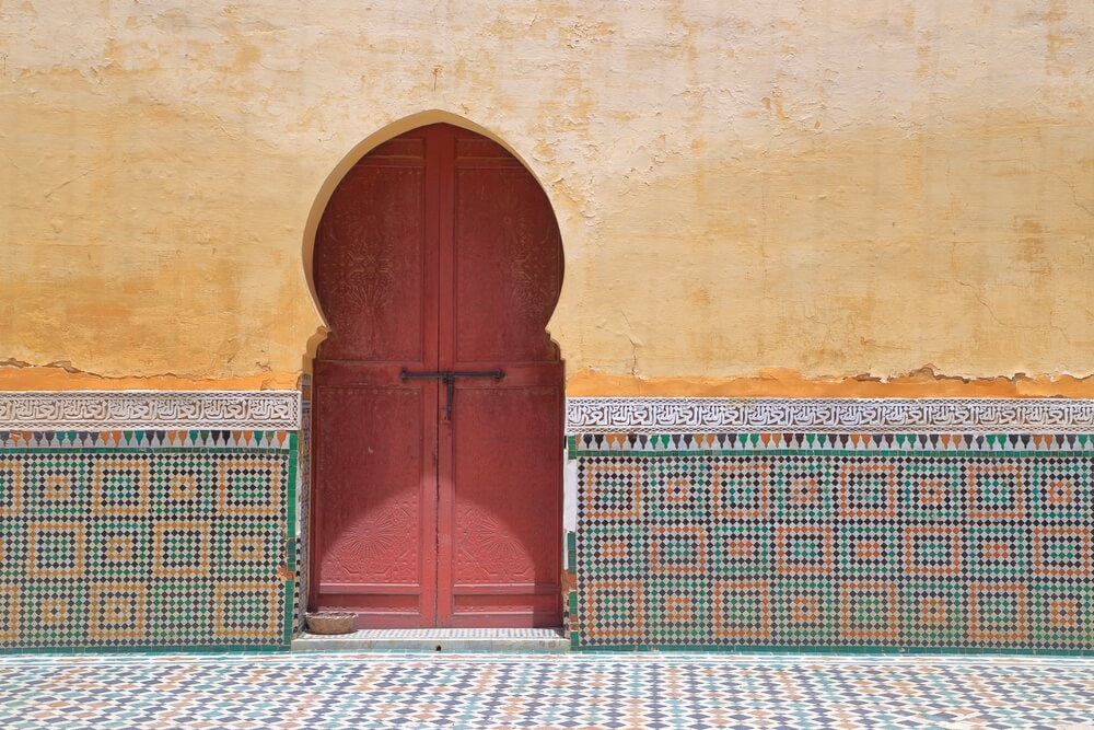 Arco árabe.