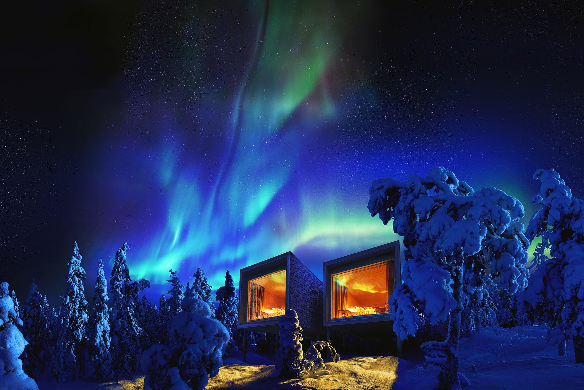 Arctic treehouse Hotel en Finlandia.