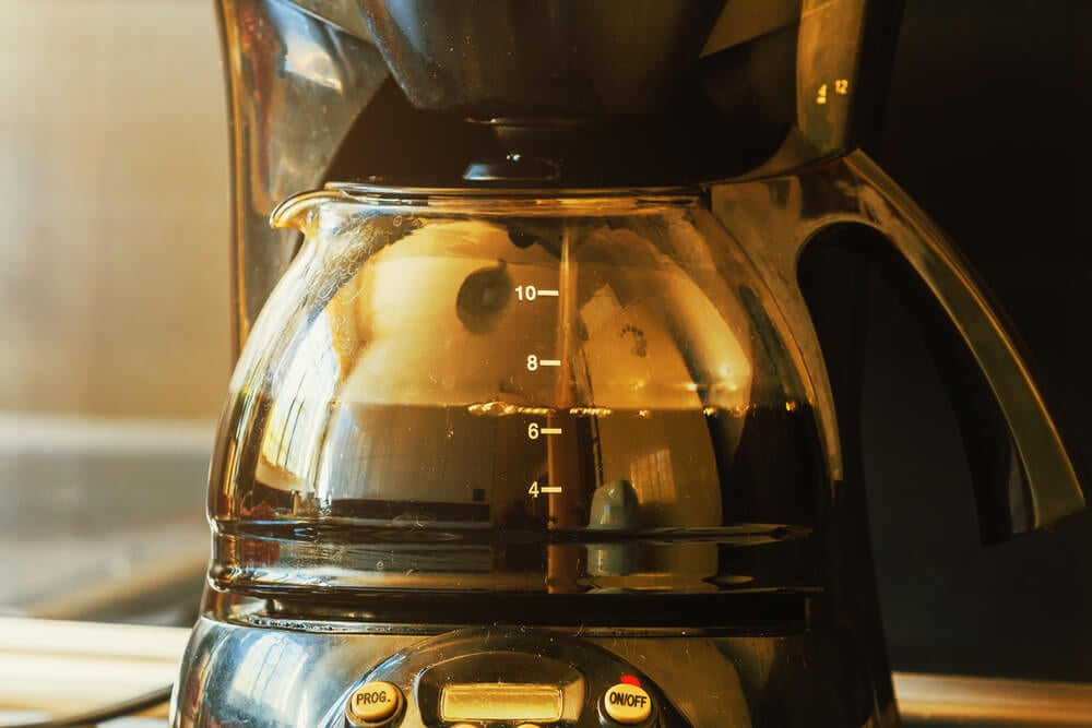 Cafetera americana.