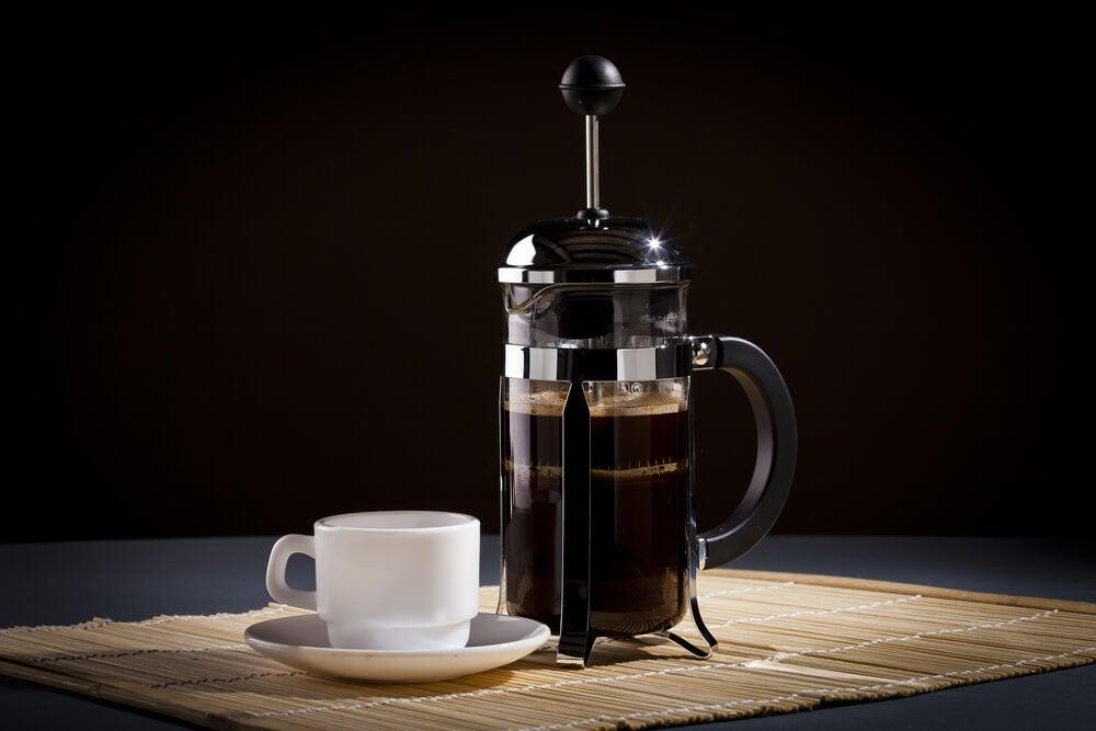 Cafetera francesa.