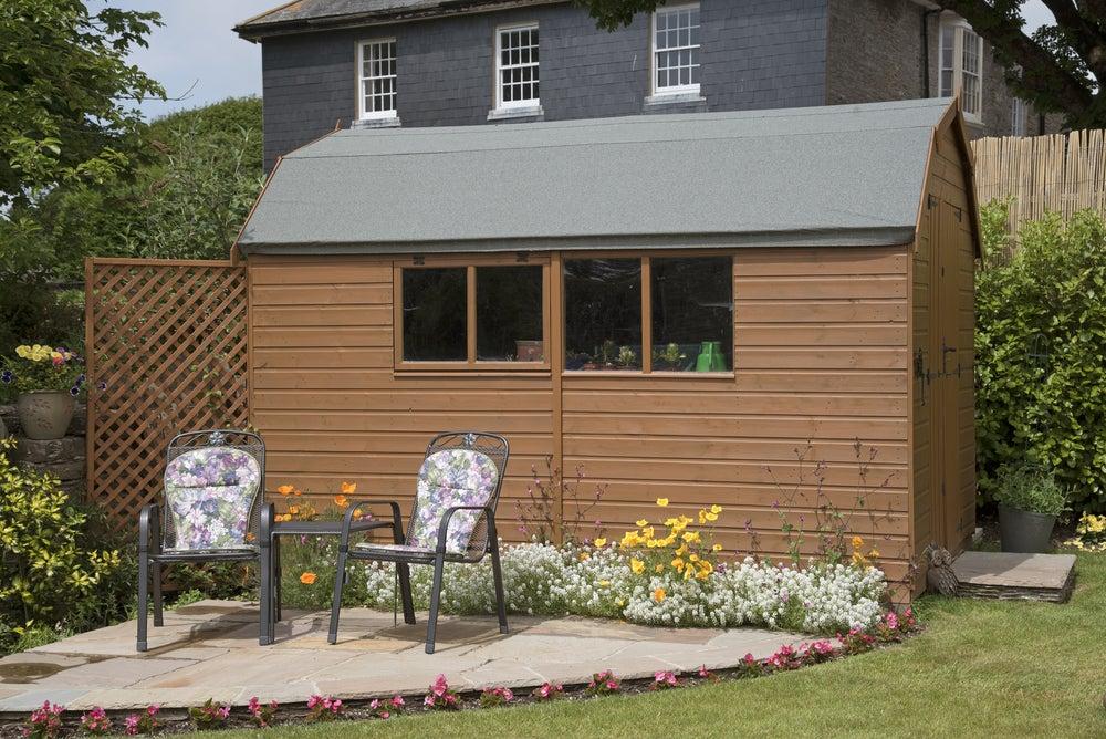 Cobertizos de madera para el jard n el lugar id neo para for Cobertizos para jardin