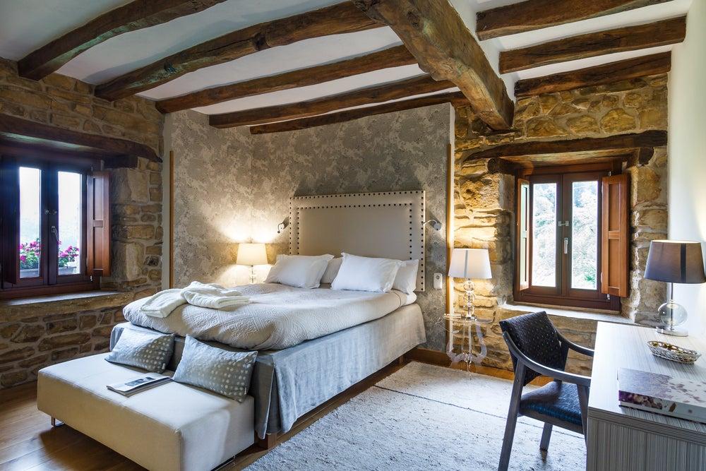 Dormitorio farmhouse chic.