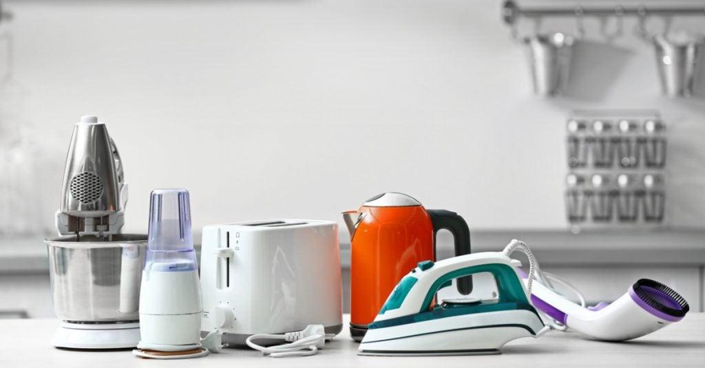 Electrodomésticos imprescindibles para la cocina.