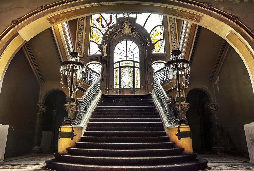 Entrada a casino art nouveau