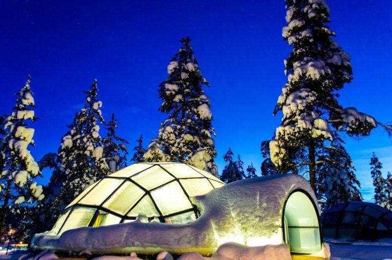 Kakslauttanen Igloo Resort, Saariselka.
