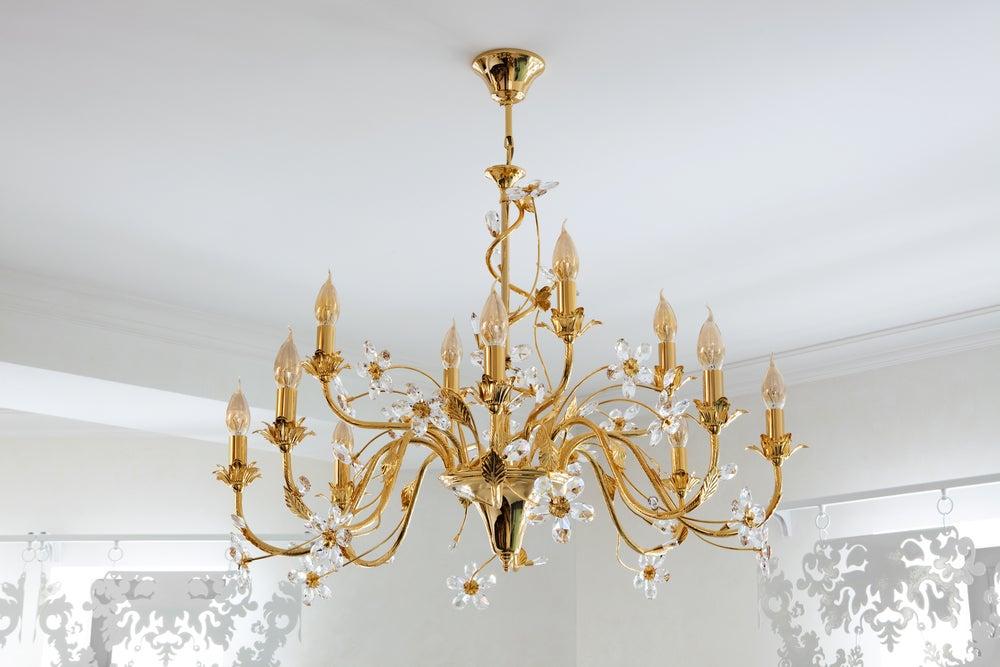 lamparas de techo araña Lmparas De Techo Qu Tipos Hay Y Algunas Recomendaciones