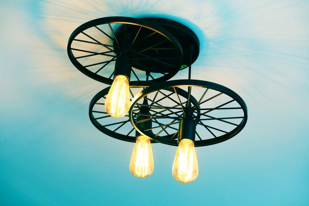 Lámparas de diseño.