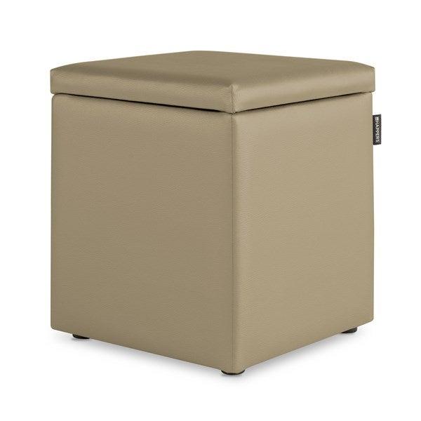 Puff cubo multifunción: mesilla, taburete, armario.