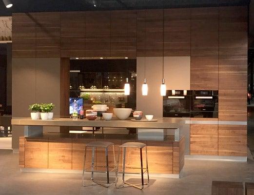 Feria del mueble de Milán en 2016: diseño de una cocina.