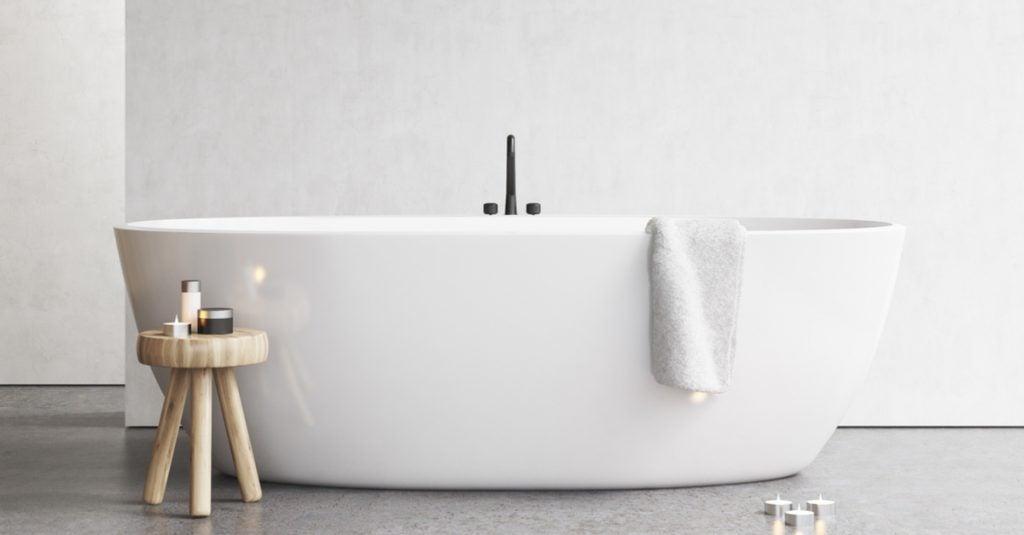 Bañeras de diseño para los baños más exigentes