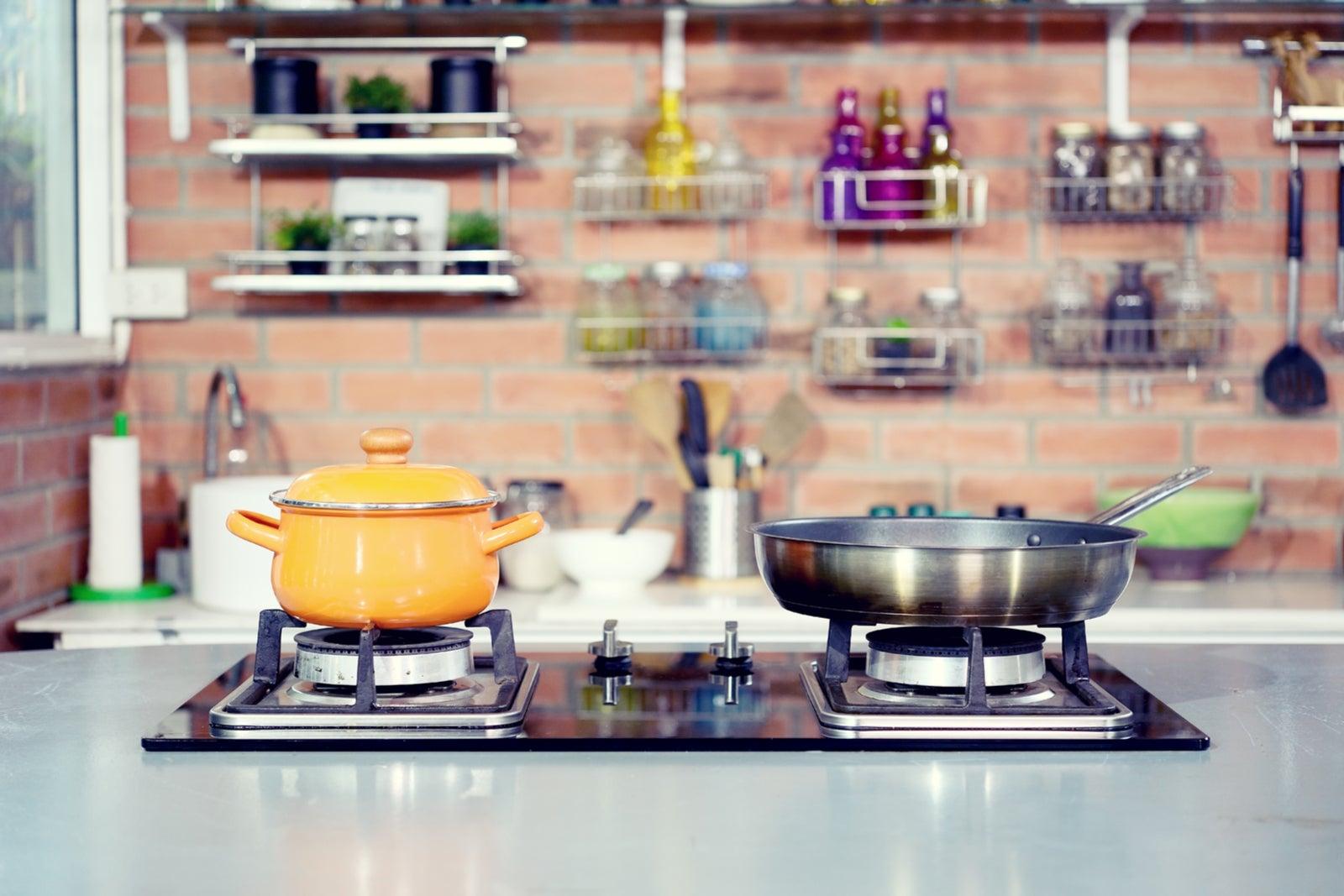 Las placas de gas para la cocina