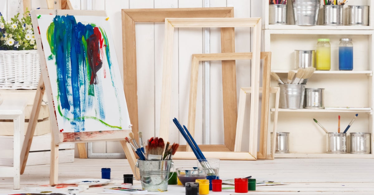 Ideas para un Art Zone en casa