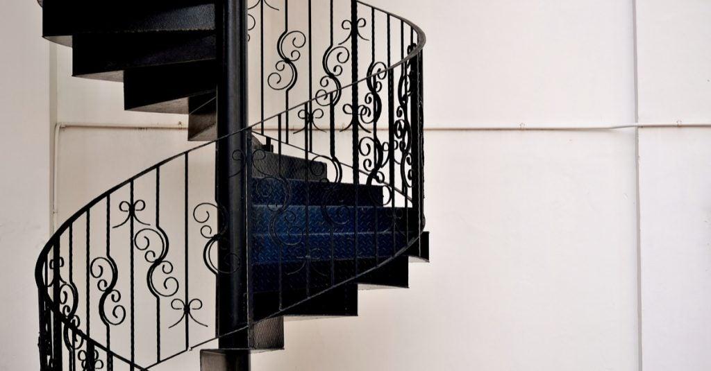 Elegir la barandilla de la escalera