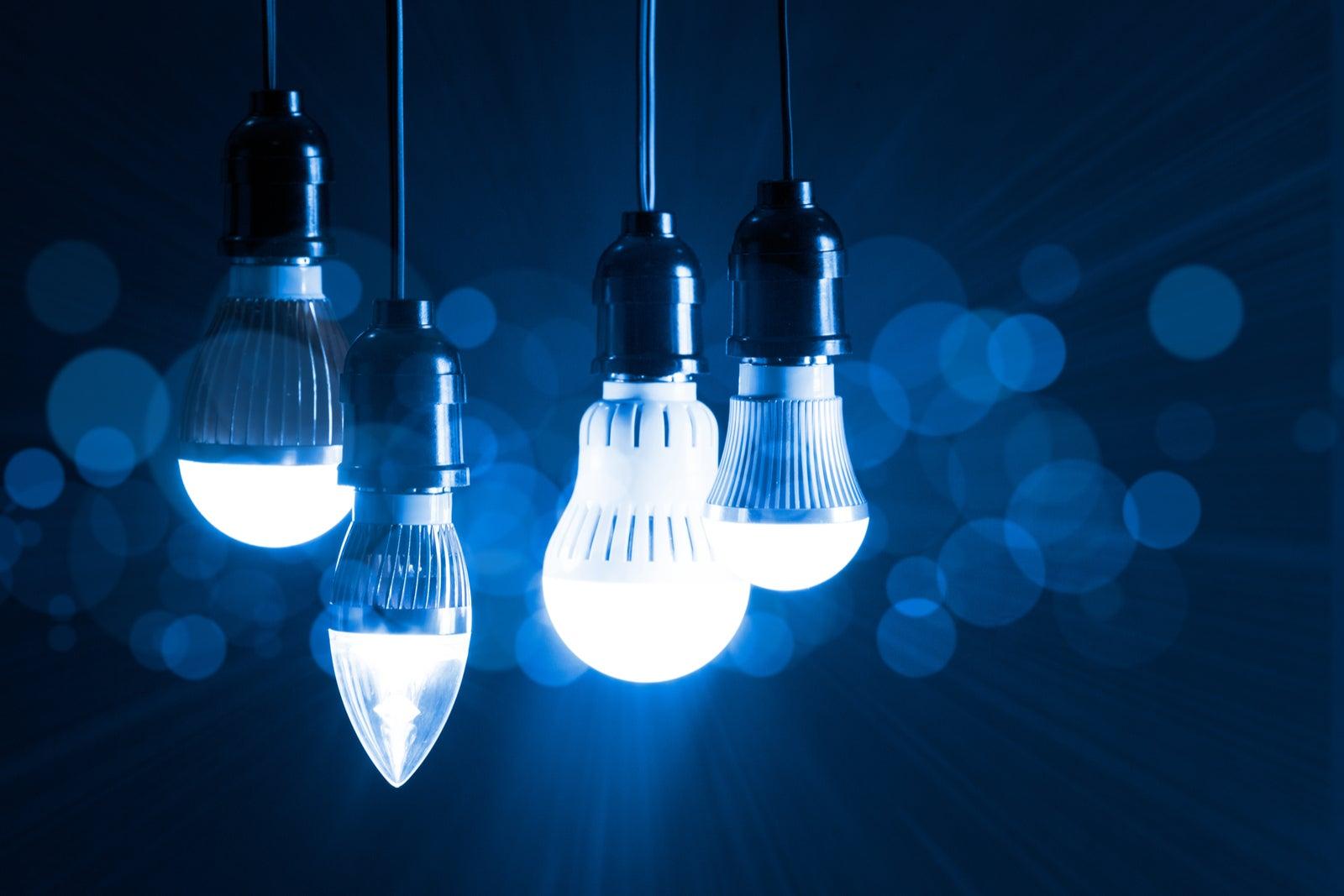 Características de las bombillas LED.