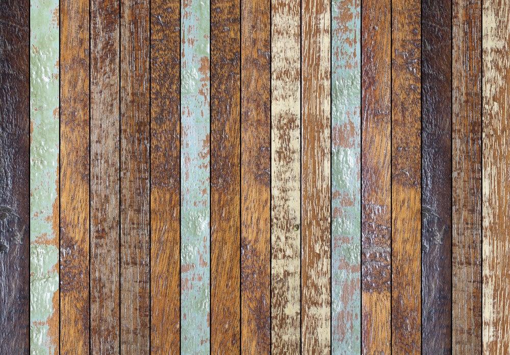 Colores rústicos para decorar: gris, azul claro, crema, ocre, madera.