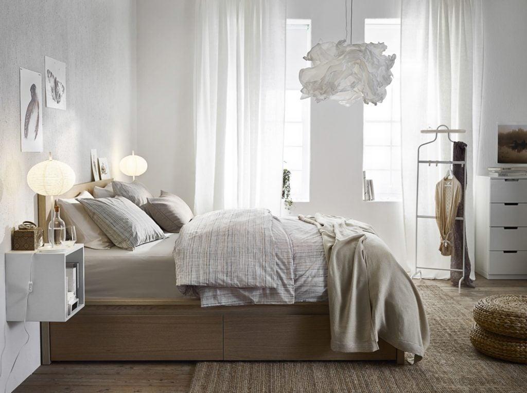 Decoración de dormitorio IKEA