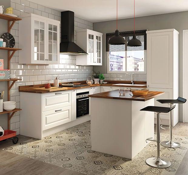 4 encimeras de leroy merlin para que tu cocina quede de 10 - Encimeras madera cocina ...