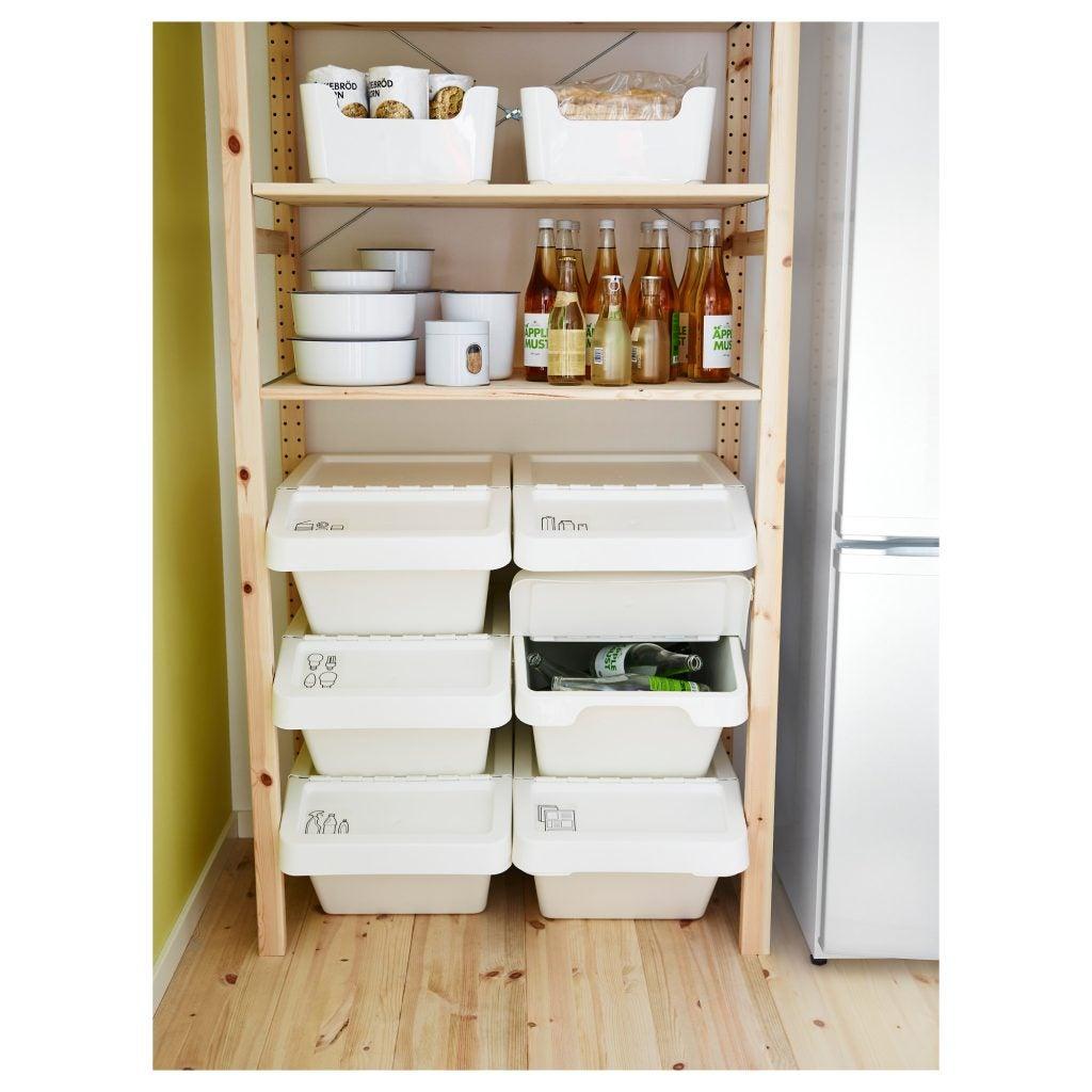 Ejemplo de espacio de almacenamiento de IKEA
