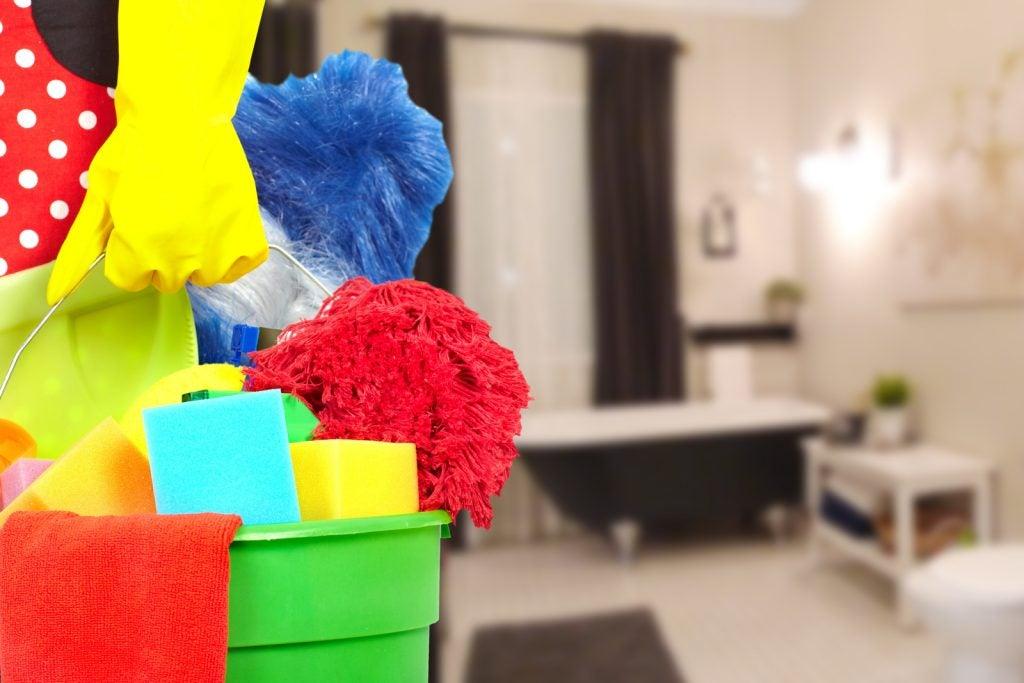 Limpieza de tu casa a diario.