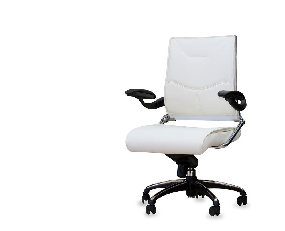 Silla Confort 2 en blanco.