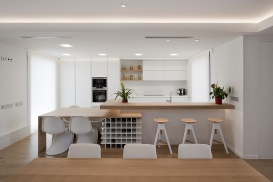 4 ideas para separar salón, comedor y cocina - Mi Decoración