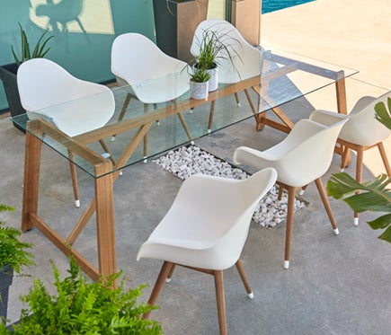 Patio set from Leroy Merlin