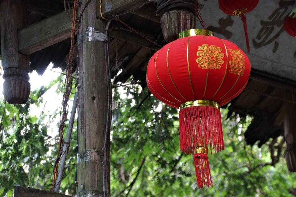 Decoración china.