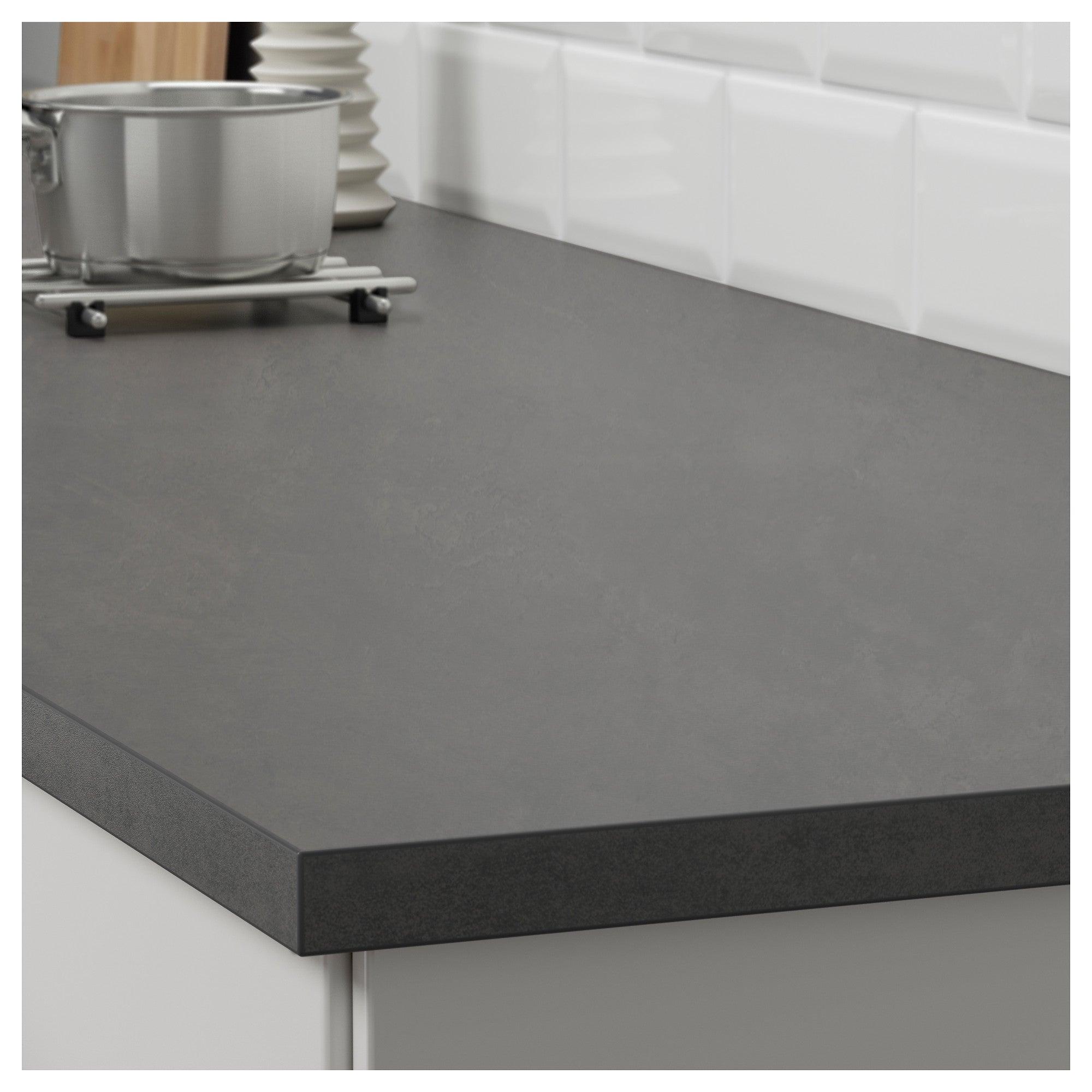 Encimera efecto cemento:EKBACKEN para tu cocina.